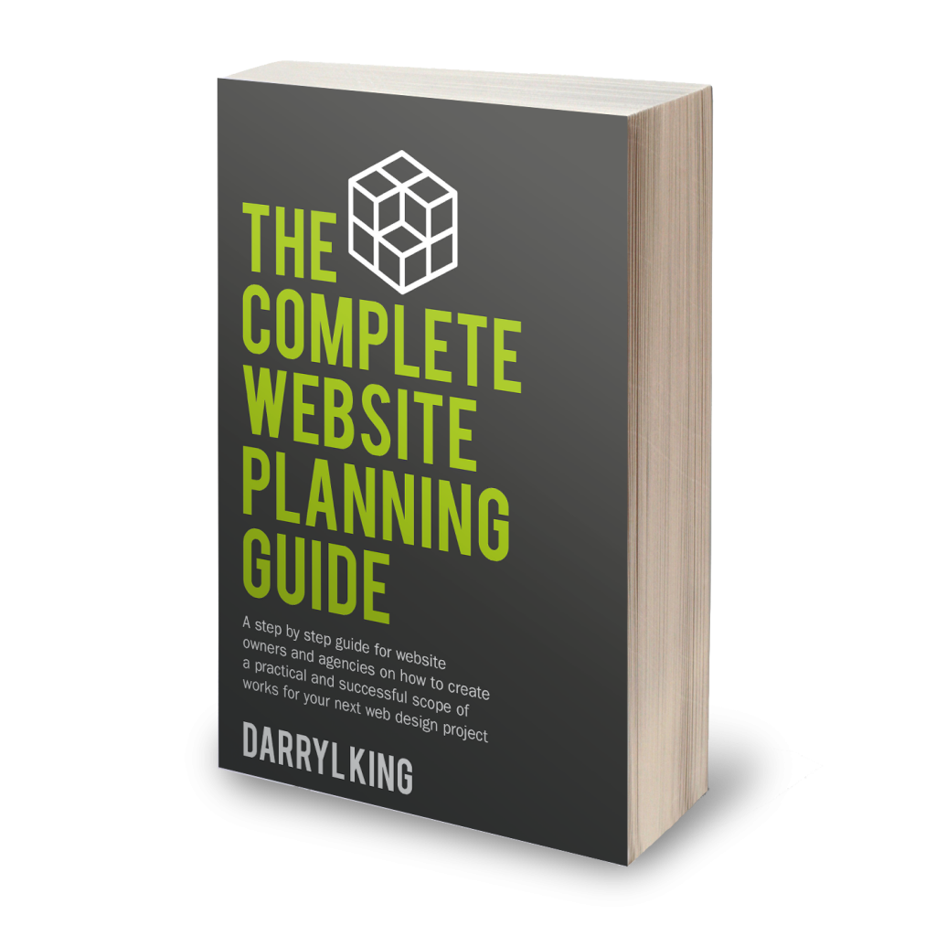 The Complete Website Planning Guide Cover 3D